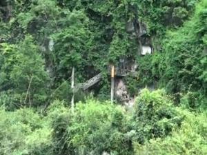 Découvrez le mur géant de Kamphaeng Nyak à Khammuan au Laos