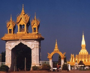 Vientiane_That_Luang laos