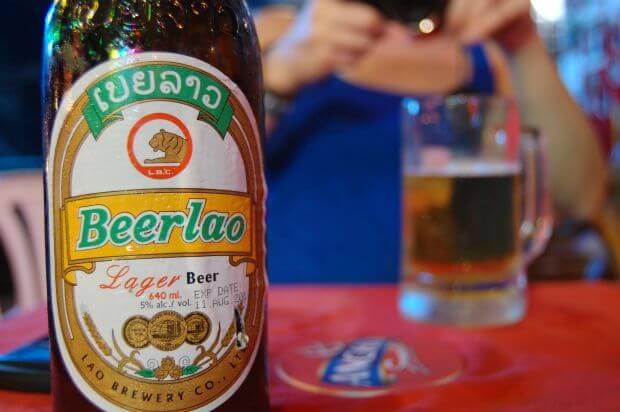 Quelles sont les boissons disponibles au Laos